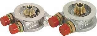 Podstawka Mocal pod filtr oleju M20 z termostatem - GRUBYGARAGE - Sklep Tuningowy